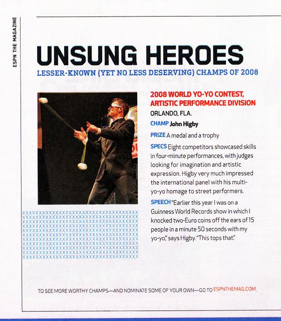 John Higby - Unsung Hero