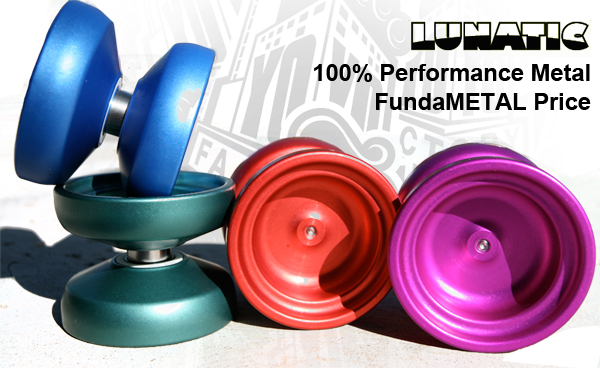 New YoYoFactory FundaMETAL
