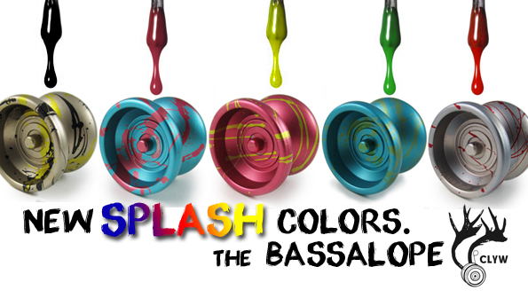 Bassalope Restocked Excellent SPLASH Colors!