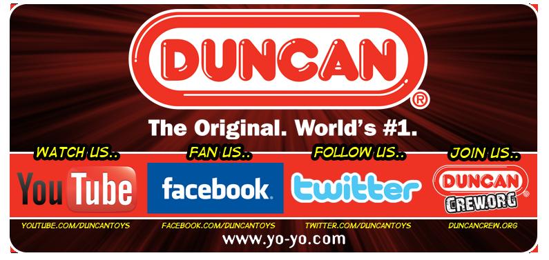 Follow Duncan Online!