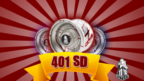 YoYoFactory 401 SD SPLASH – Now Available!