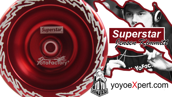 YoYoFactory Jensen Kimmitt SuperStar and Undeniable Genesis