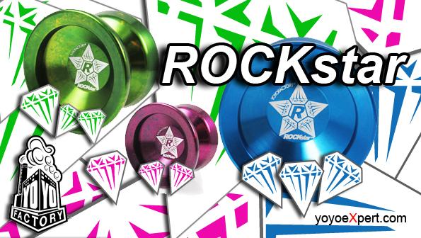 YoYoFactory ROCKstar Official Release!