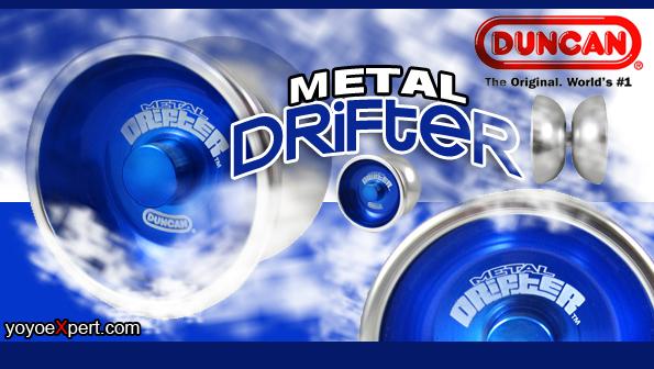 Duncan METAL Drifter Arrives!