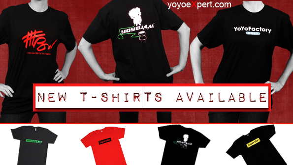 Yo-Yo T-Shirts Are In Stock!