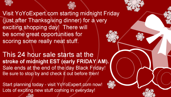 Midnight – Thanksgiving – Special Shopping EVENT!