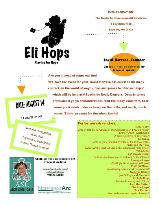 Eli Hops – Playing for Hope