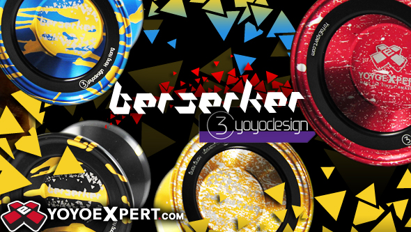 Countdown to Release of C3YoYoDesign Yeah3 and Berserker!