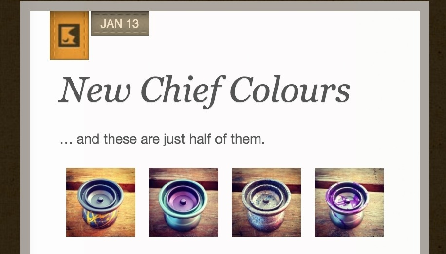 CLYW shows off New Chief colors!