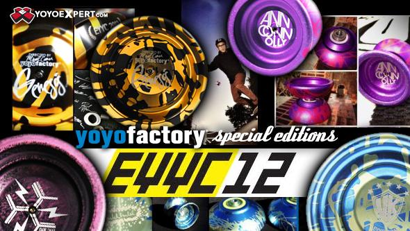 YoYoFactory EYYC Edition YoYos!