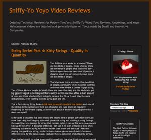 Sniffy-Yo Kitty String