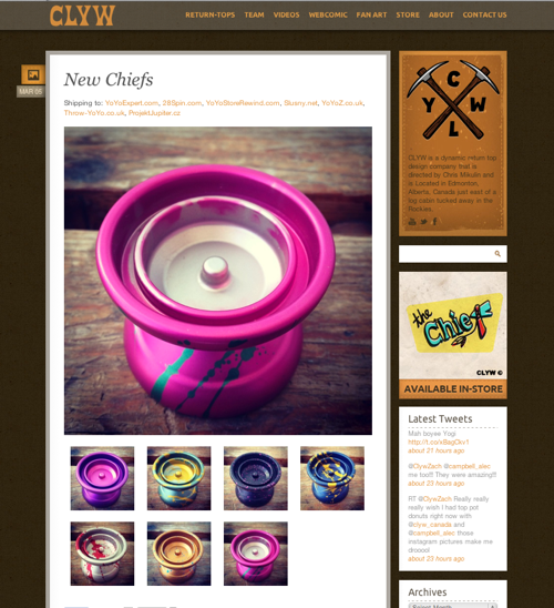 Next Release of the CLYW Chief!
