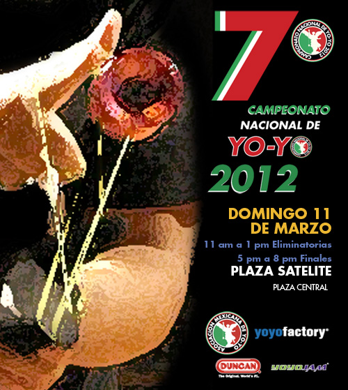 YoYoExpert is a proud sponsor the 2012 Mexico National YoYo Contest!