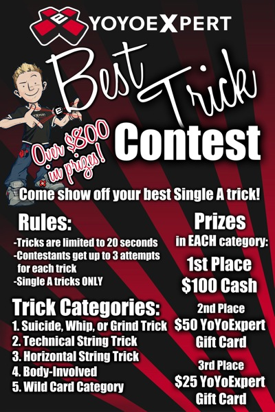 Bay Area Classic Best Trick Contest Update!