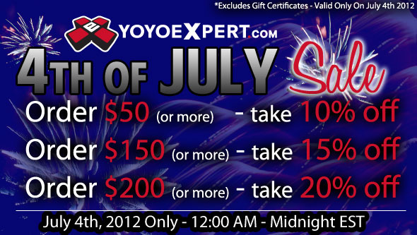 Celebrate 4th of July with YoYoExpert!