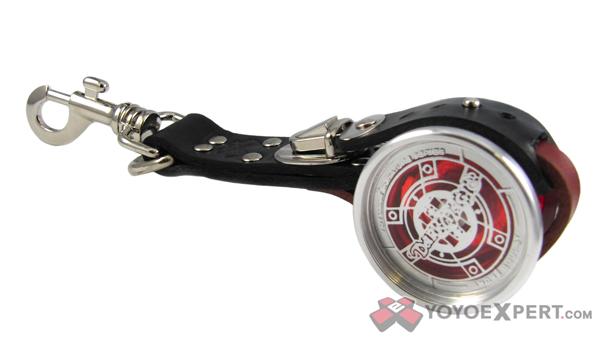 Leather Yo-Yo Holder by TotalArtist