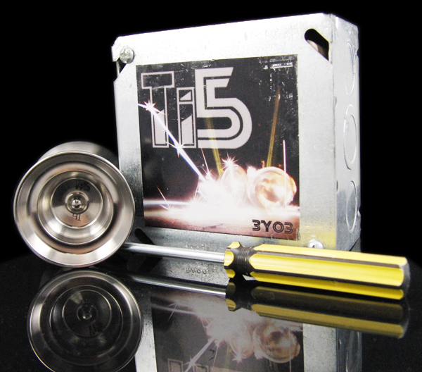 3Yo3 Ti5 TITANIUM Yo-Yo – Available Wednesday!