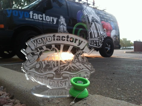 YoYoFactory West Coast Tour