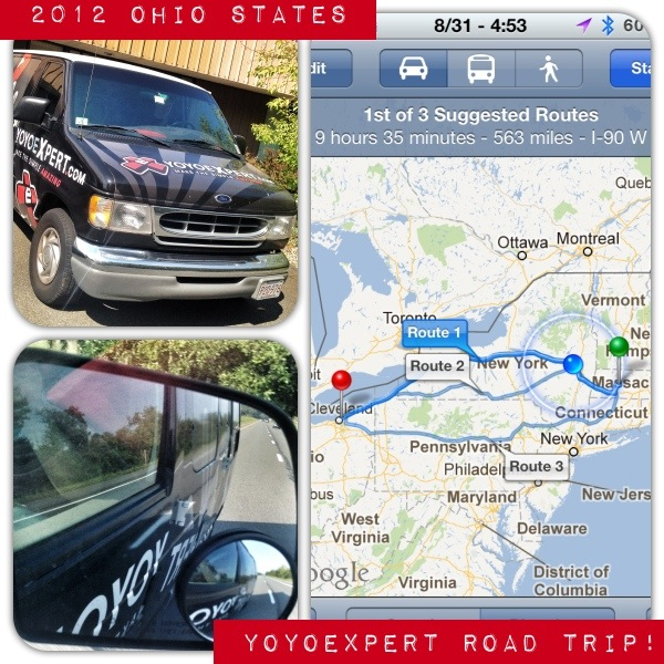 2012 Ohio State Yo-Yo Contest Road Trip!