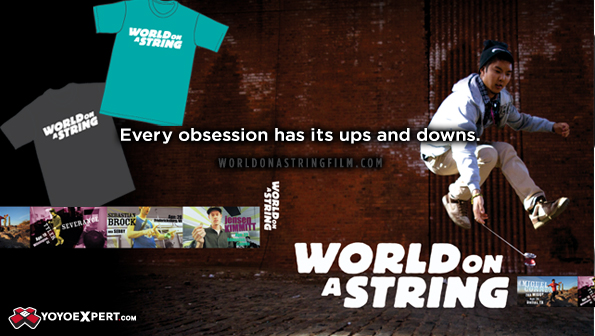 World on a String DVD Releases Tonight at YoYoExpert!!!