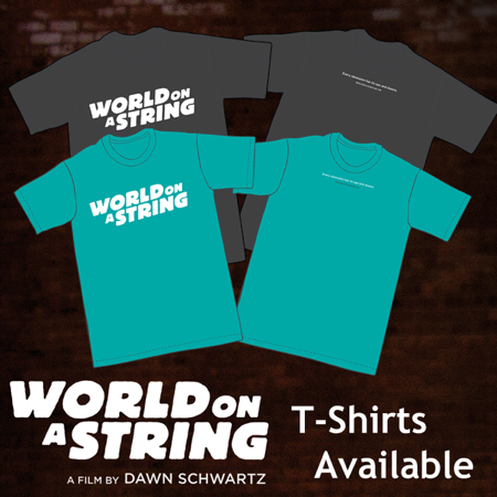 World on a String T-Shirts