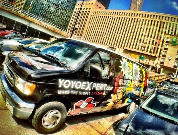 YoYoExpert Contest Van