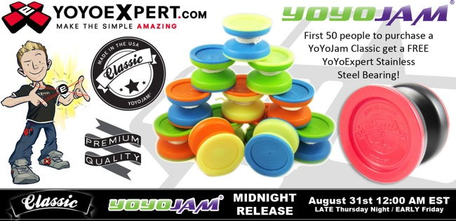 The all new @YoYoJam CLASSIC Releases TONIGHT at MIDNIGHT!