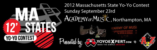 2012 Massachusetts State Yo-Yo Contest – Thanks to our Sponsors!