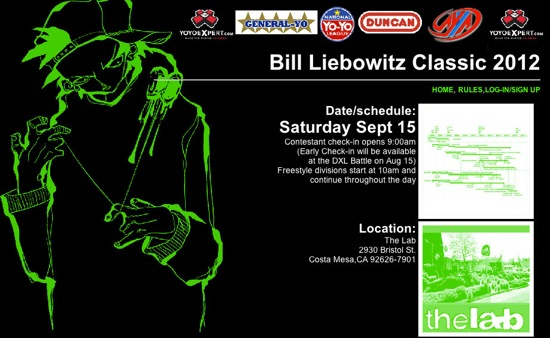 2012 Bill Liebowitz Classic Yo-Yo Contest TODAY!