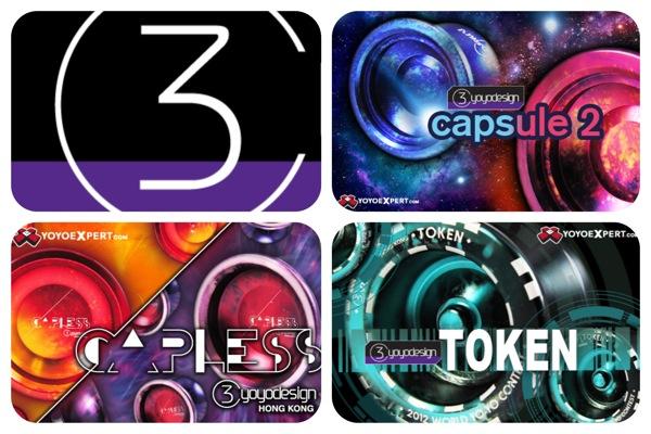 C3 MAJOR RESTOCK – The NEW TOKEN, CAPLESS, and New Capsule2 – @C3yoyodesign