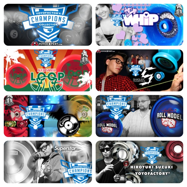 YoYoFactory Unleashes the CHAMPIONS COLLECTION @YoYoFactory