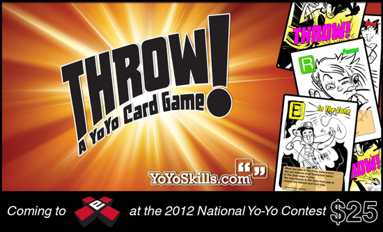 THROW! Yo-Yo Card Game Coming to YoYoExpert!