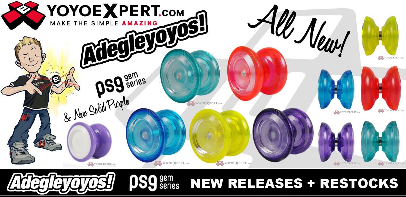 NEW Adegle PSG GEM SERIES Now Available!  @AdegleYoyoTW
