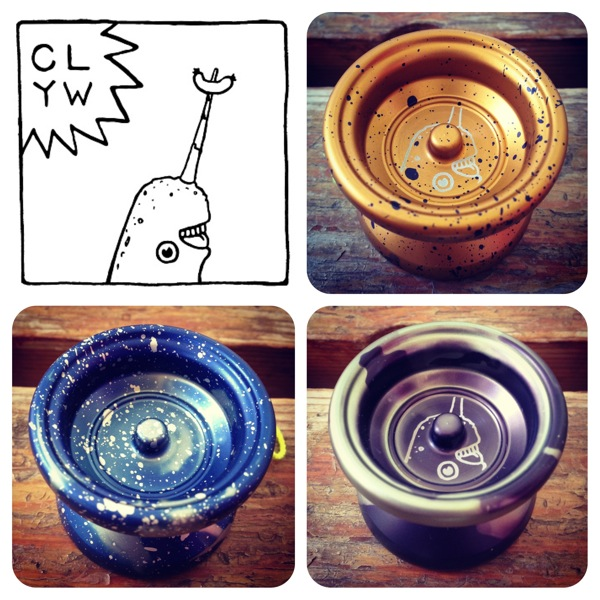 CLYW Gnarwhal and H5xCHIEF enroute to YoYoExpert!  @CLYW_Canada