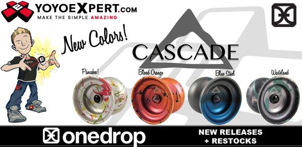 RESTOCK – NEW Cascade Colors! @OneDropDesign