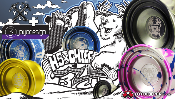 H5xCHIEF Restock in NEW CLYW Colors! @CLYW_Canada @C3yoyodesign