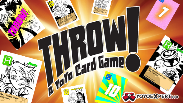 Throw Card Game