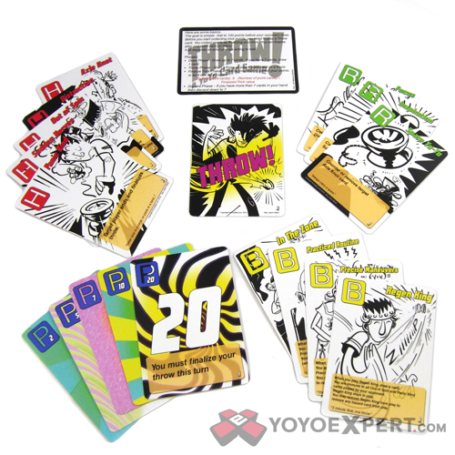 THROW! A Yo-Yo Card Game Now Available! @YoYoSkills