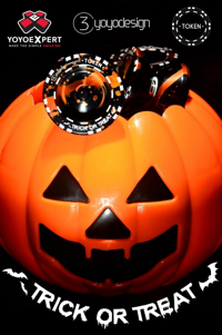 Happy Halloween from YoYoExpert + Halloween TOKEN! @C3yoyodesign