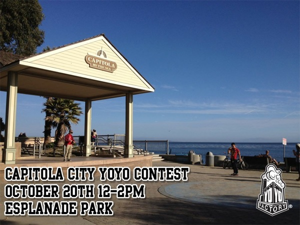 Santa Cruz Area Yo-Yo Contest by @YoYoFactory!