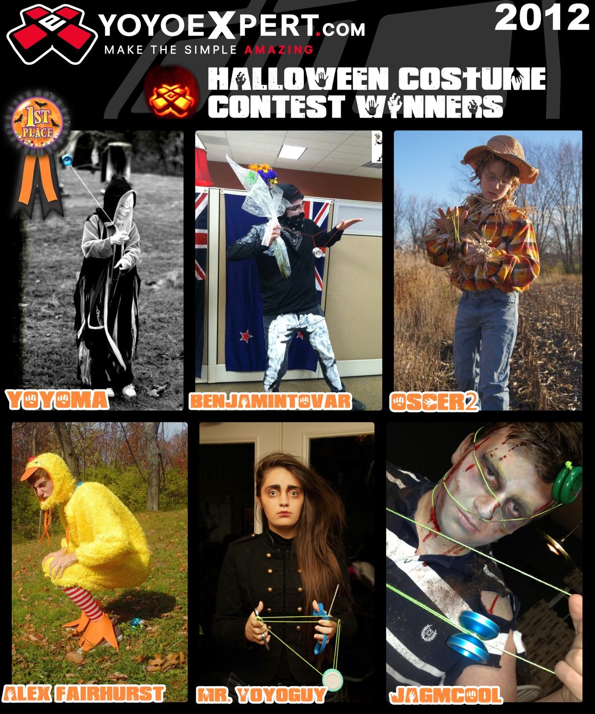 2012 YoYoExpert Halloween Costume Contest Results!
