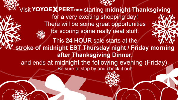BLACK FRIDAY | Coming to YoYoExpert