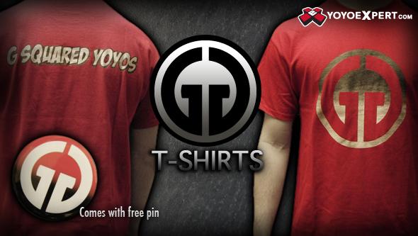 New G-Squared T-Shirts –  @GSquaredYoYos