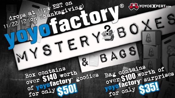    YOYOFACTORY MYSTERY BOX ANNOUNCED    @YoYoFactory