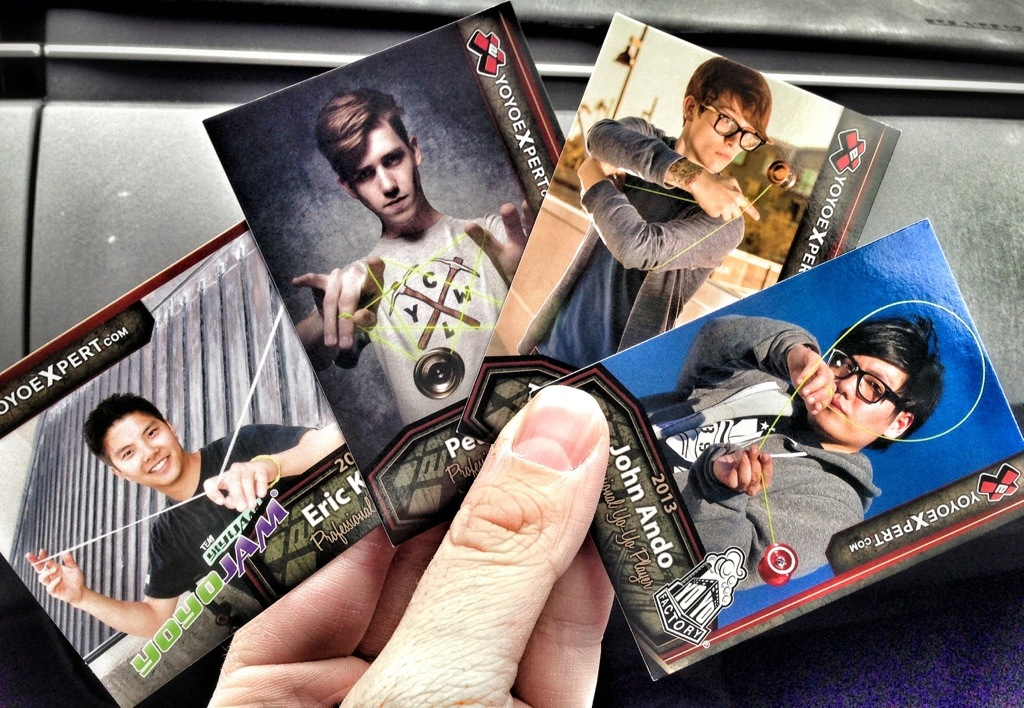 SNEAK PEEK || 2013 YoYoExpert Trading Cards