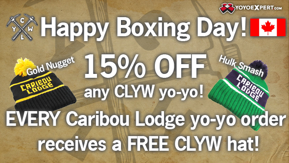Canada Boxing Day at YoYoExpert | CLYW STYLE