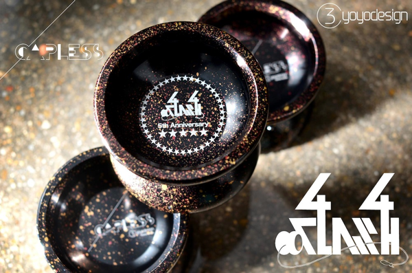 New C3 | Plastic Alpha Crash and GLITTER | @C3yoyodesign