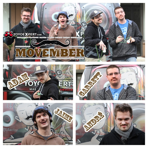 END OF MOVEMBER || YoYoExpert Crew Shows Off Their Moustaches