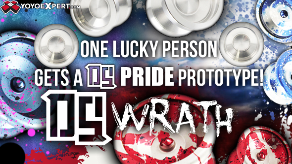 WRATH – Deadly SpINS || Buy a WRATH and you could WIN a PRIDE Prototype