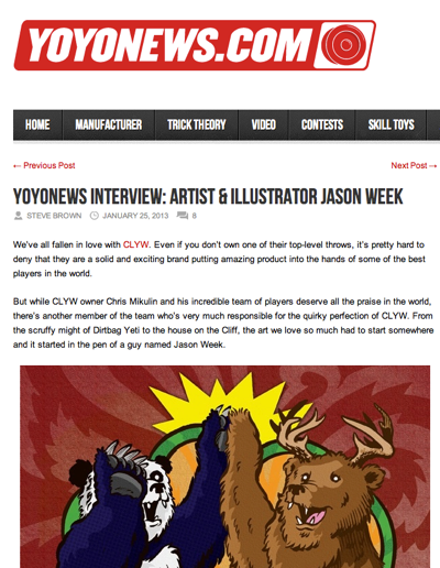 Jason Week Interview – @YoYoNewsBlog
